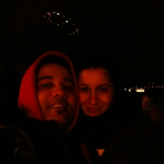 Nisha+Nalin at SF NYE 2011 fireworks